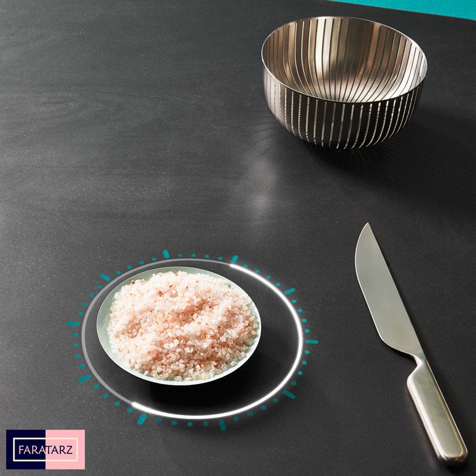 سطح کار هوشمند در آشپزخانه های هوشمند