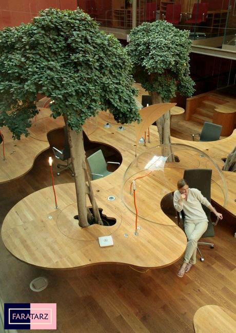طراحی پایدار در فضای داخلی و لابی