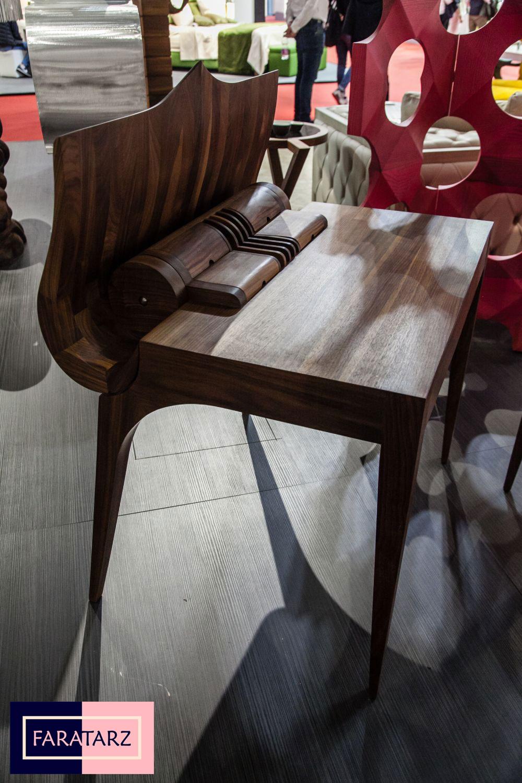 میز چوبی معاصر
