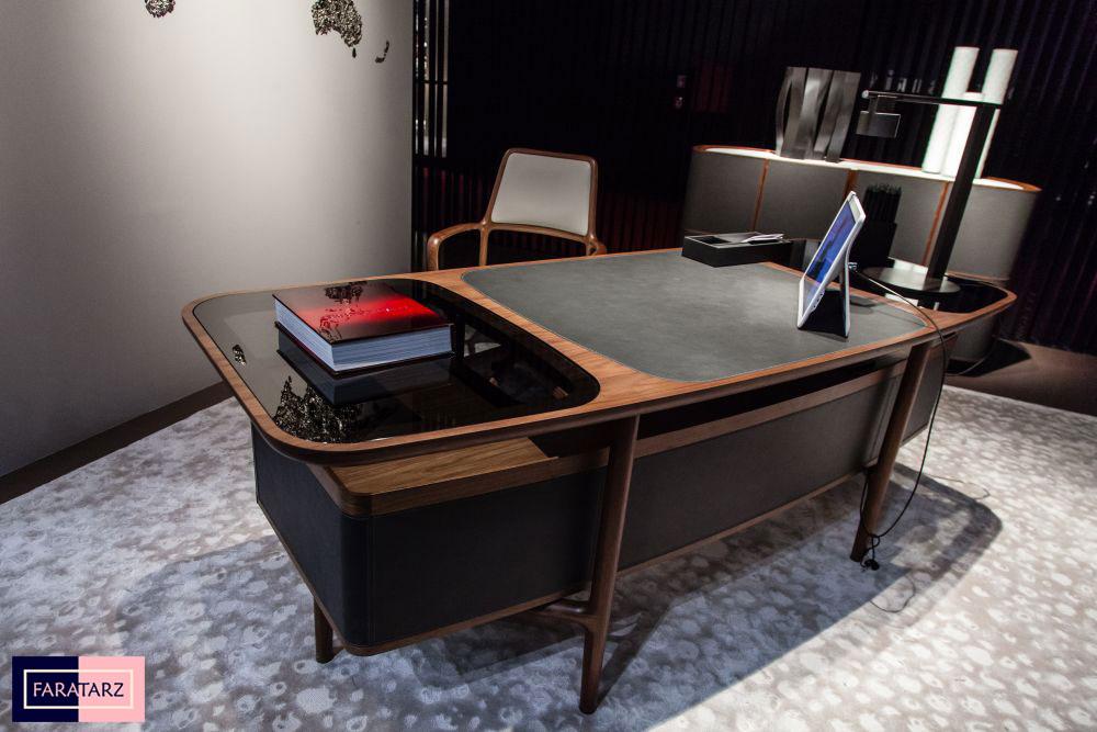میز اداری چوبی مدرن
