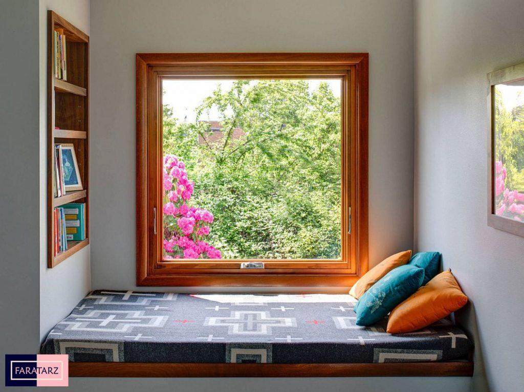 نشیمنگاه استراحت پنجره اتاق خواب4