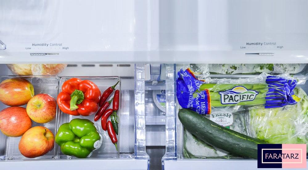 نظم دهنده آشپزخانه ها یخچال4