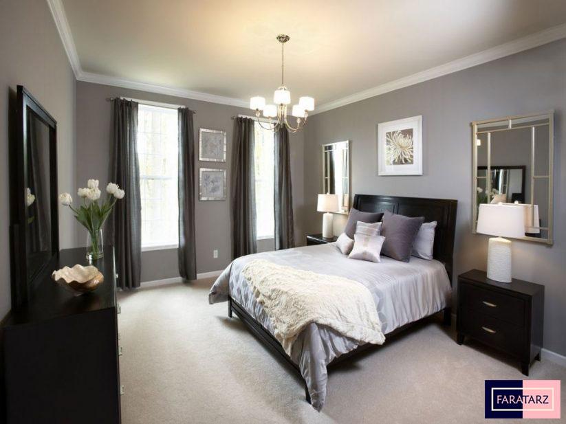 اتاق خواب مستر با رنگ خنثی1