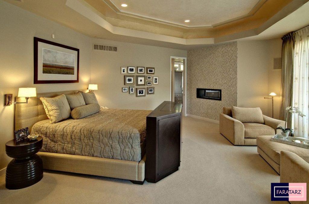 اتاق خواب مستر با رنگ خنثی2