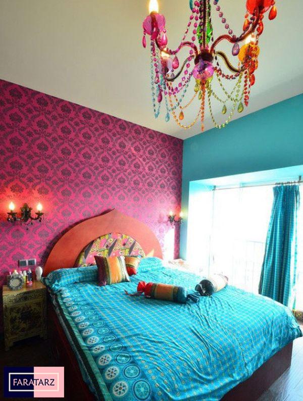 اتاق خواب مستر با رنگ گرم شاد2