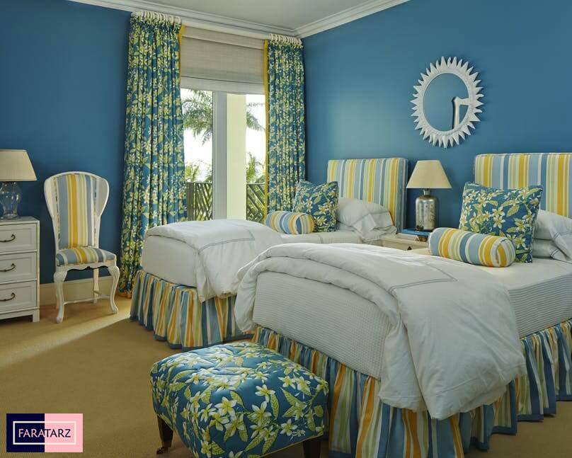 اتاق خواب مستر با رنگ سرد5