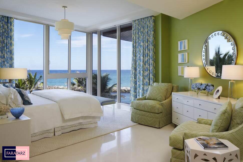 اتاق خواب مستر با رنگ سرد6