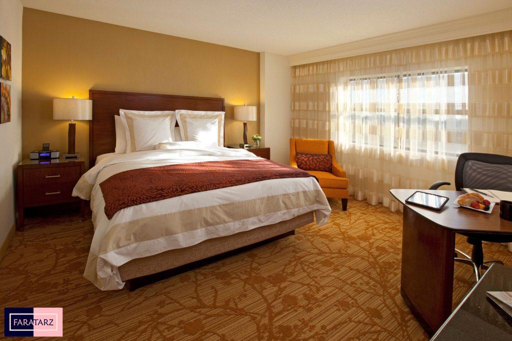 اتاق خواب مستر با رنگ گرم