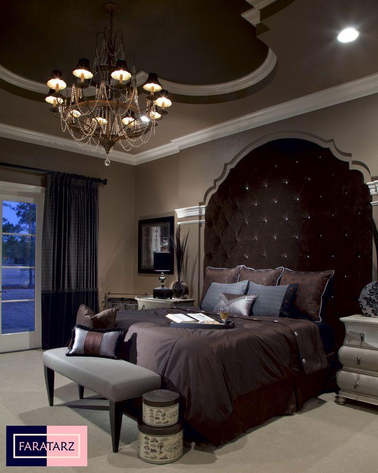 اتاق خواب مستر با رنگ خنثی