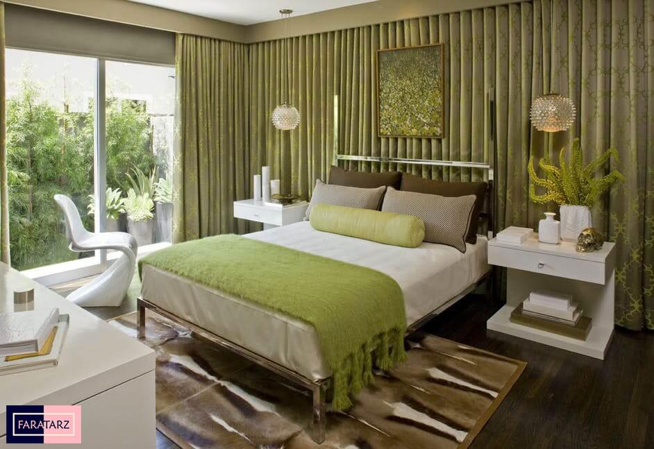 اتاق خواب مستر با رنگ سرد9