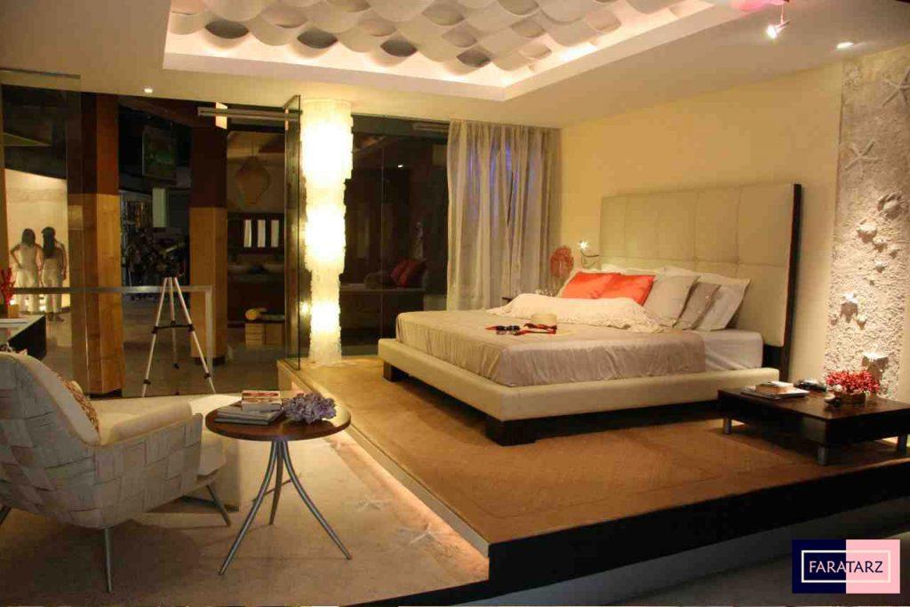 اتاق خواب مستر با رنگ های ترکیبی8