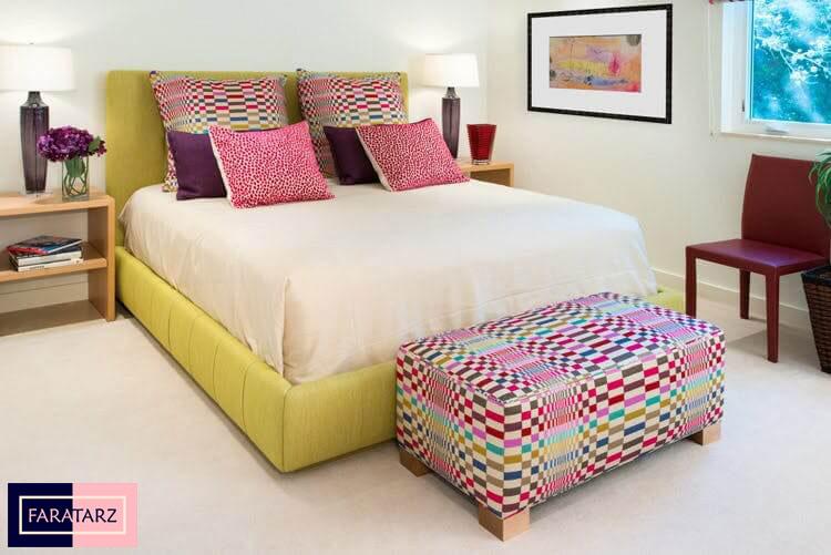 اتاق خواب مستر با رنگ گرم شاد3