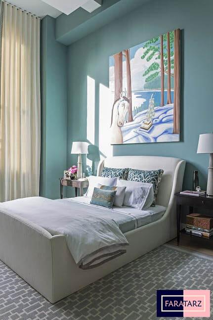 اتاق خواب مستر با رنگ سرد7