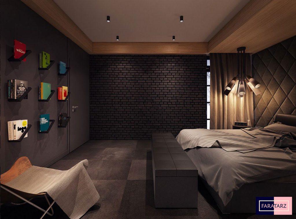 اتاق خواب مستر با رنگ خنثی3