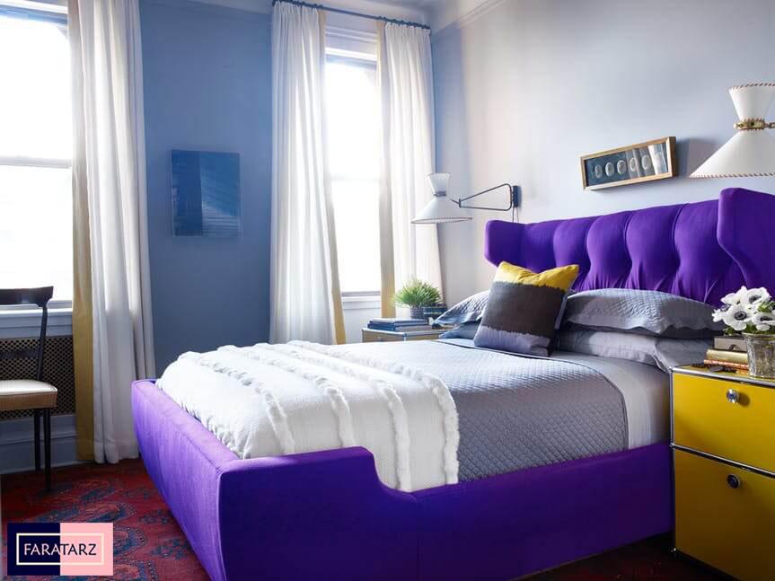 اتاق خواب مستر با رنگ سرد8