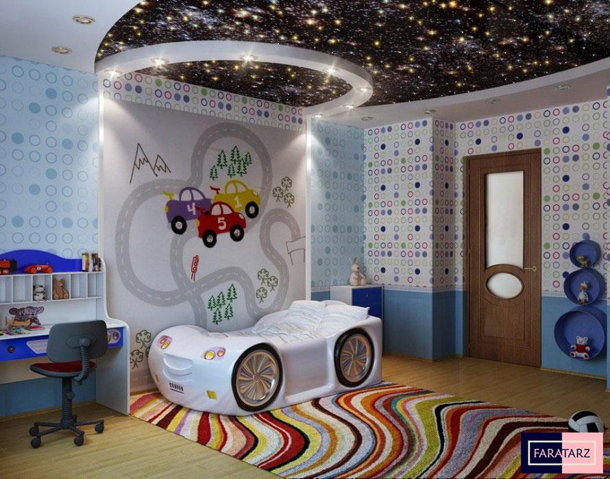 ایده هایی برای طراحی اتاق کودک