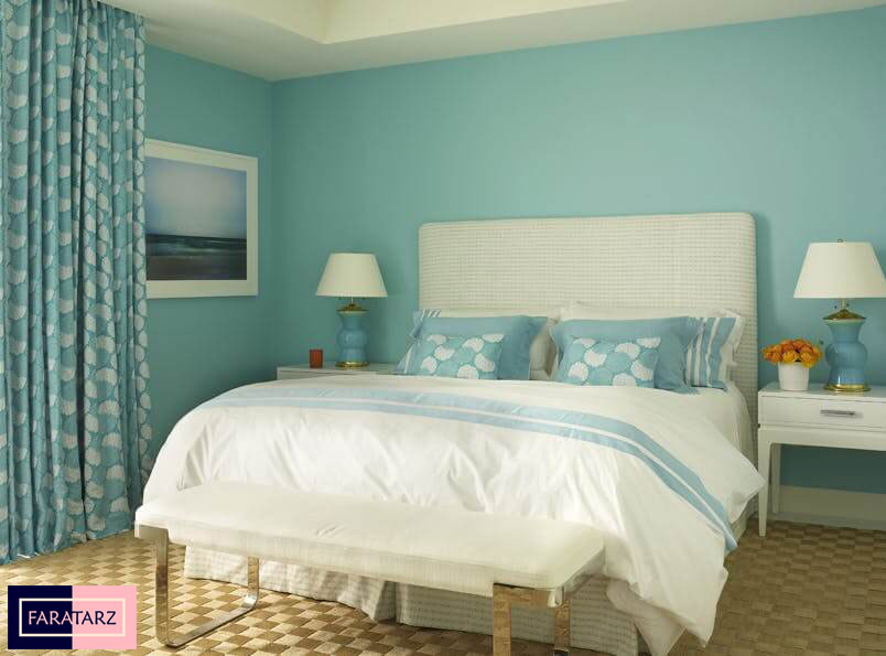 اتاق خواب مستر با رنگ سرد2