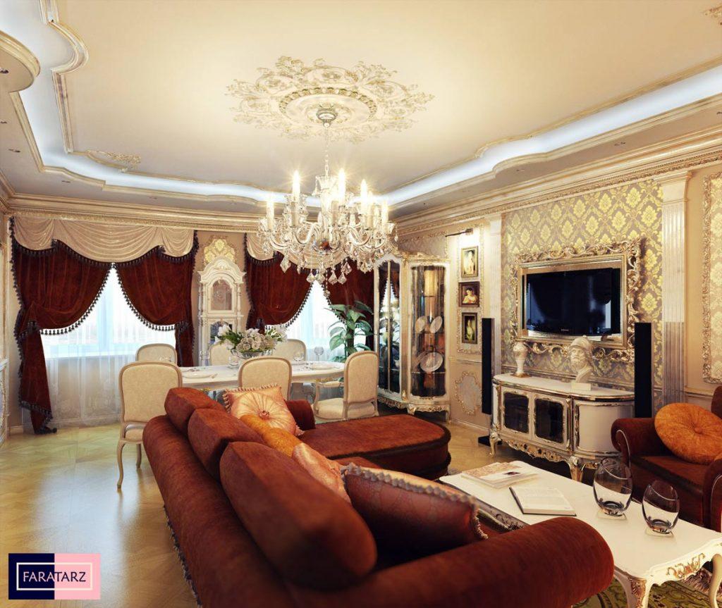 سبک کلاسیک در معماری داخلی2