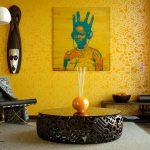 روانشناسی رنگ زرد در دکوراسیون داخلی