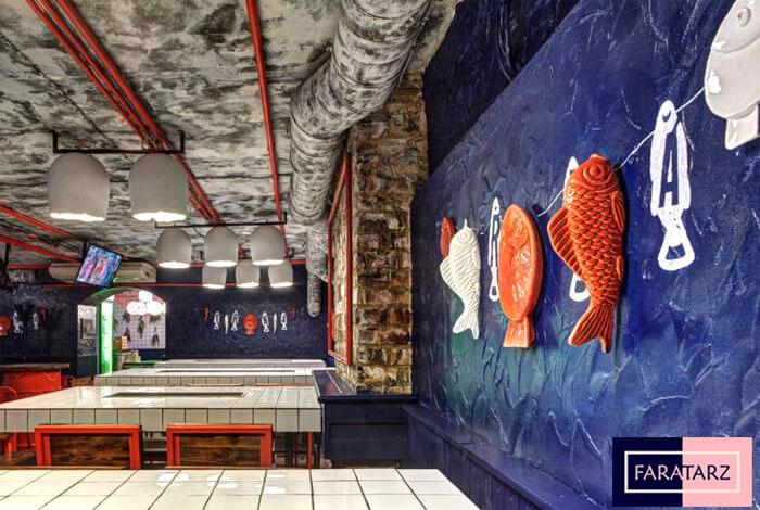 دکوراسیون داخلی رستوران اوکراینی3