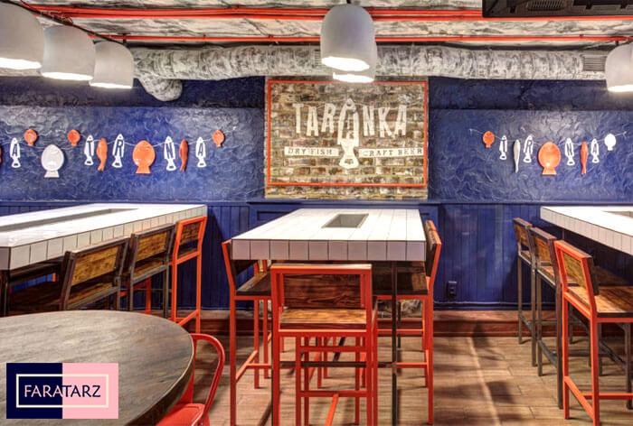 دکوراسیون داخلی رستوران اوکراینی7