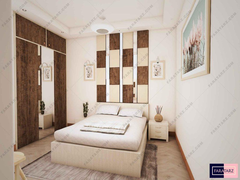 طراحی اتاق خواب سبک تلفیقی