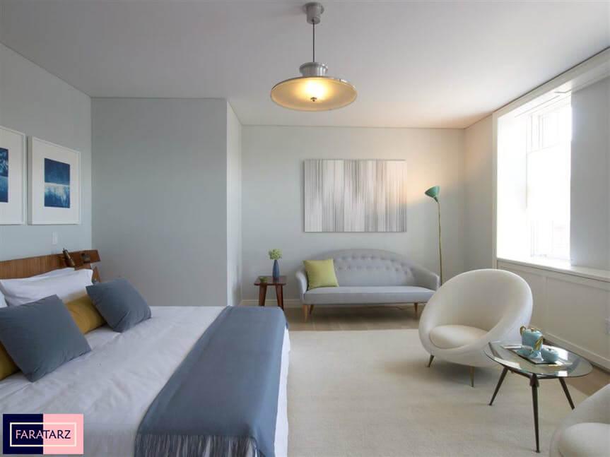 اتاق خواب آرامش بخش8