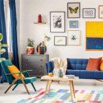 ۴  ترفند طراحی داخلی اتاق نشیمن در سال ۲۰۱۹