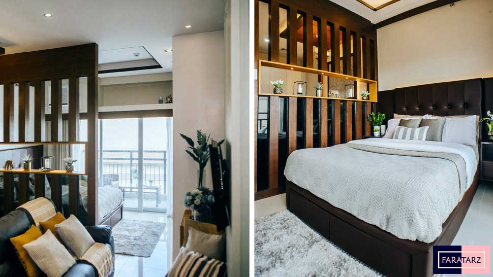 طراحی داخلی سوییت ۲۸ مترمربعی