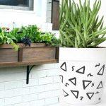 چطور یک گلدان پنجره ای خانگی زیبا بسازیم؟