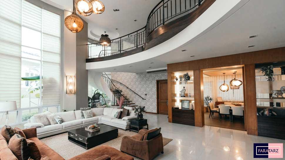 طراحی خانه سبک استوایی مدرن