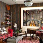رنگ های جذاب زیبا در طراحی داخلی خانه