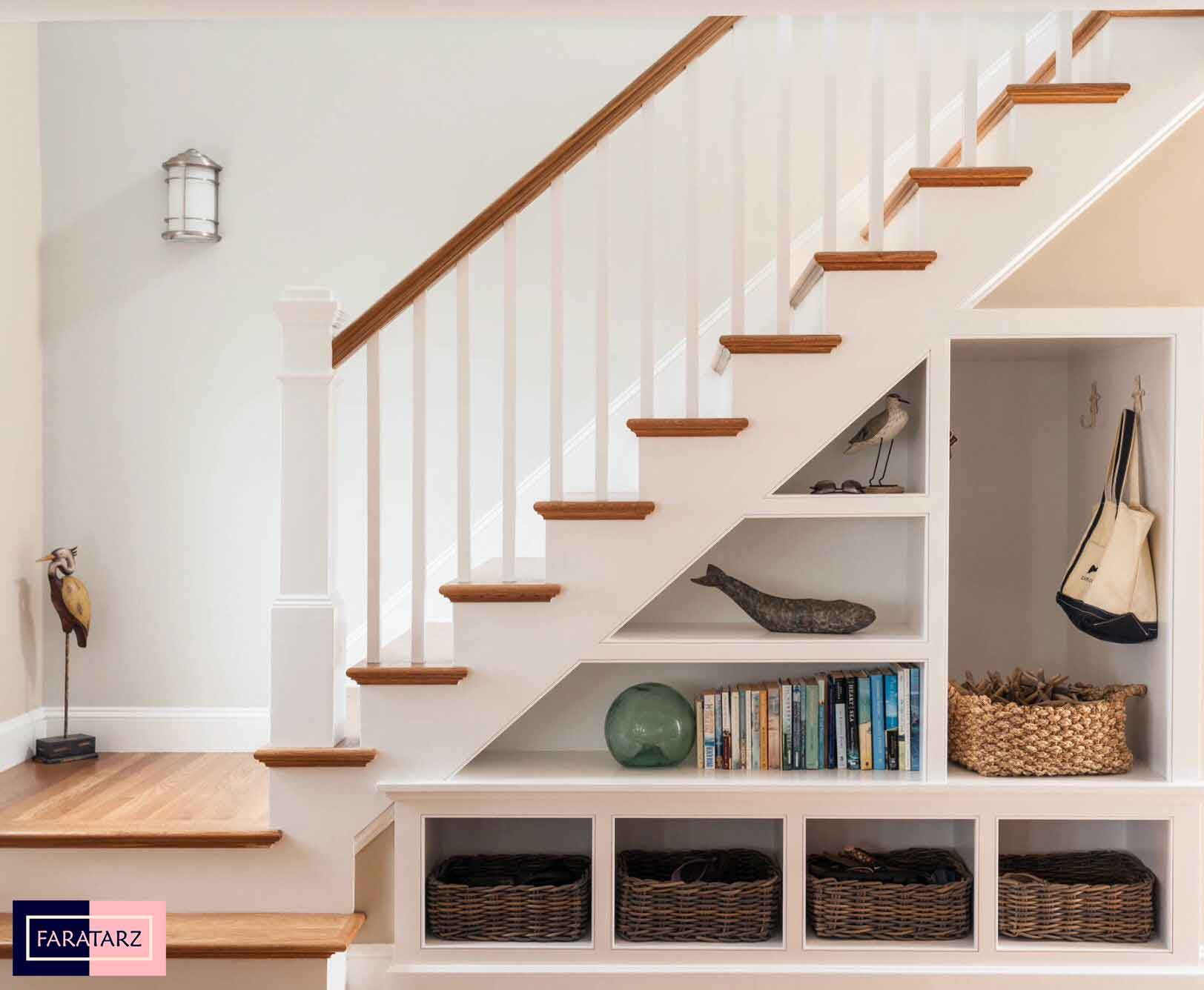ایده خلاقانه راه پله در خانه