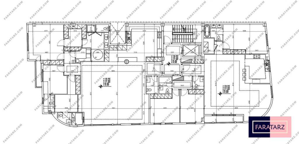طراحی پلان و نمای کلاسیک مسکونی