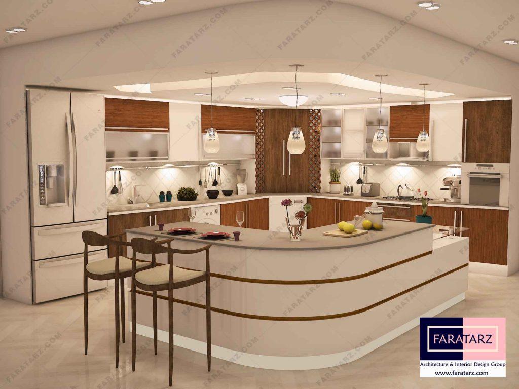 ریمادلینگ دکوراسیون داخلی آشپزخانه مدرن