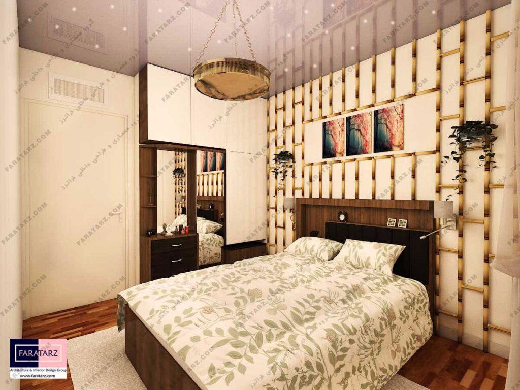 مشاوره طراحی داخلی اتاق مستر