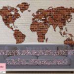 مهم ترین نکات کاربردی دیوارهای آجری در معماری داخلی