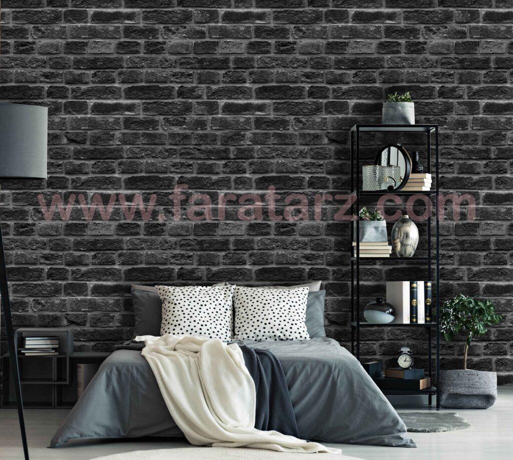 نکات کاربردی دیوارهای آجری در اتاق خواب